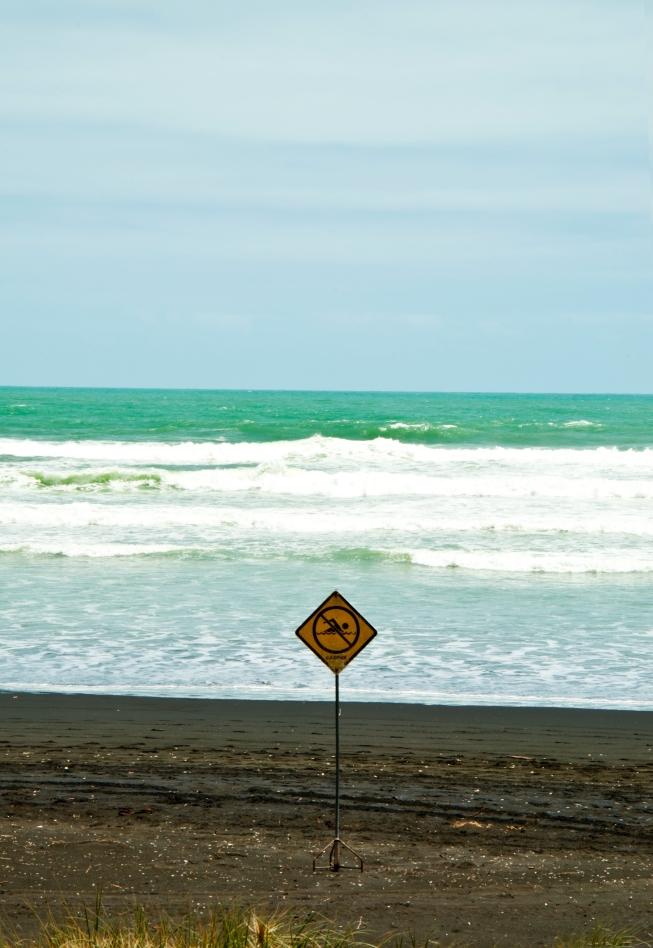 do not swim!