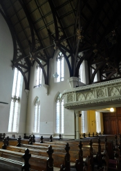 Inside of First Church of Otago