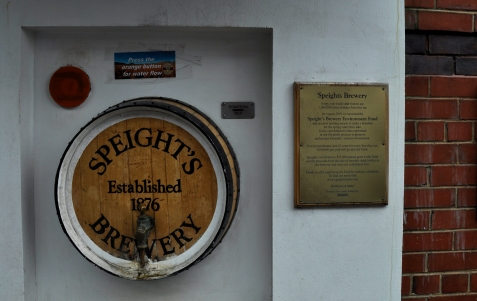 Speight's Brewery water tap
