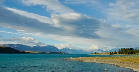 Stunning Lake Tekapo