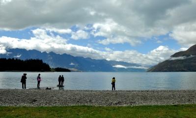Lake Wakatipu - Queenstown truistic spot