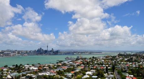 Auckland skyline from Devenport