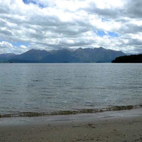 Kepler track - lake Manapouri