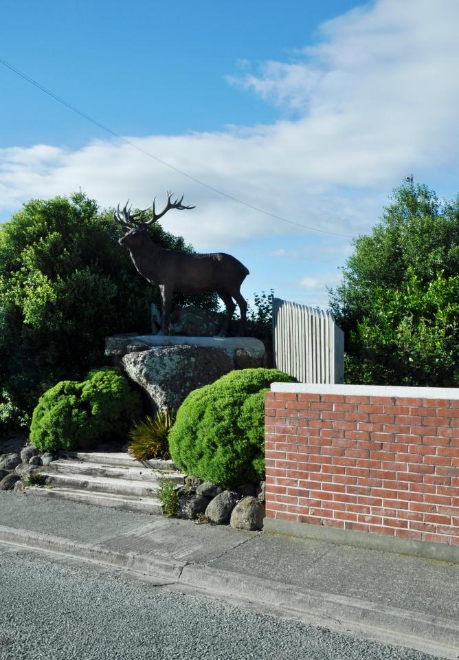 main Deer Statue