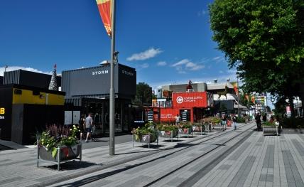 contemporary city centre