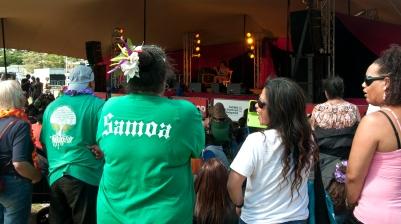 Festival Pacifica - Samoan stage