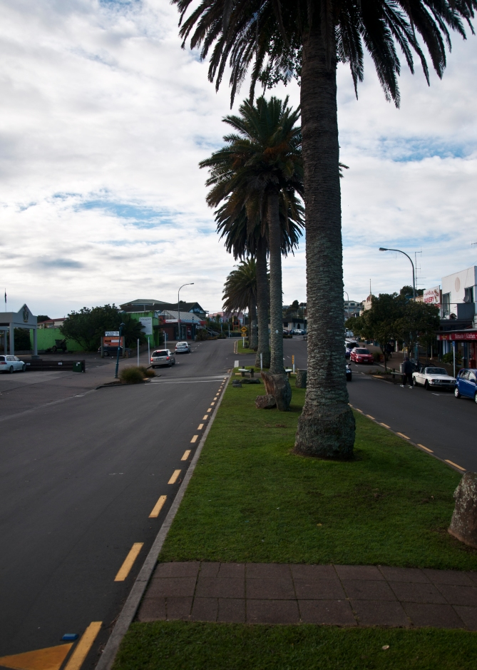 "Main road - ""Palm colonnade"" I."