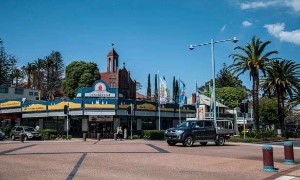 Port Macquarie city centre