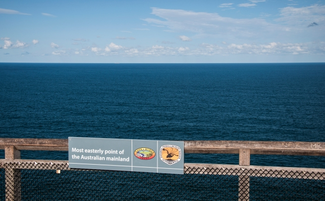 The Most Easterly point of Aussie