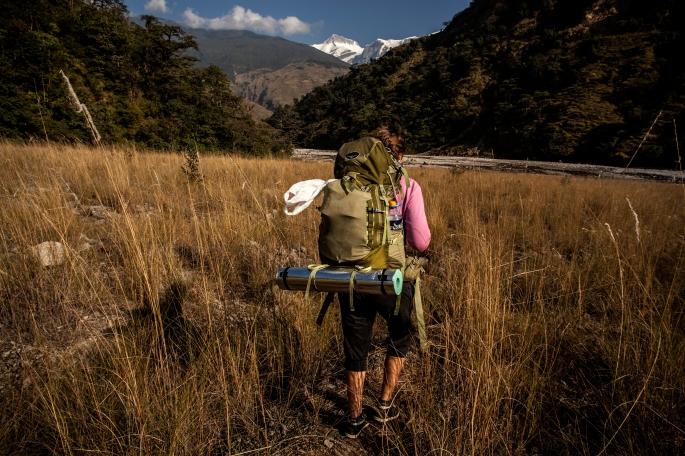 Sikles track, Nepál
